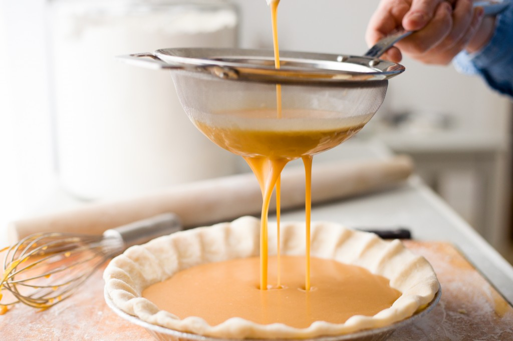 Laura's favorite, salted caramel pie filling
