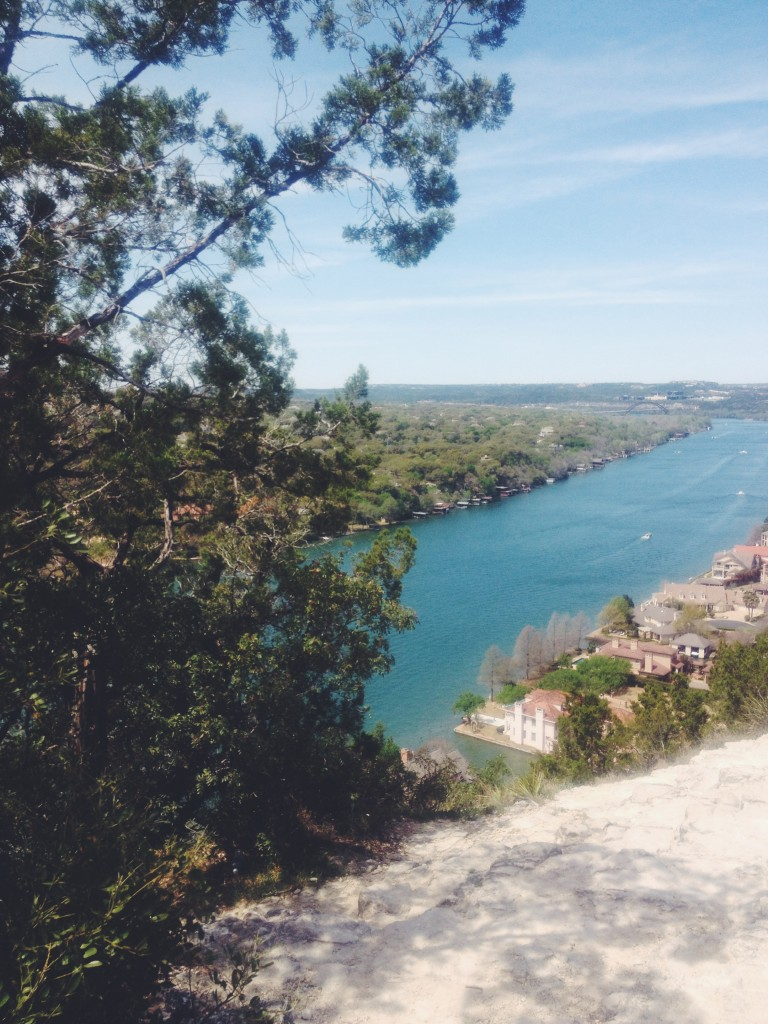 View from the top of Mount Bonnell