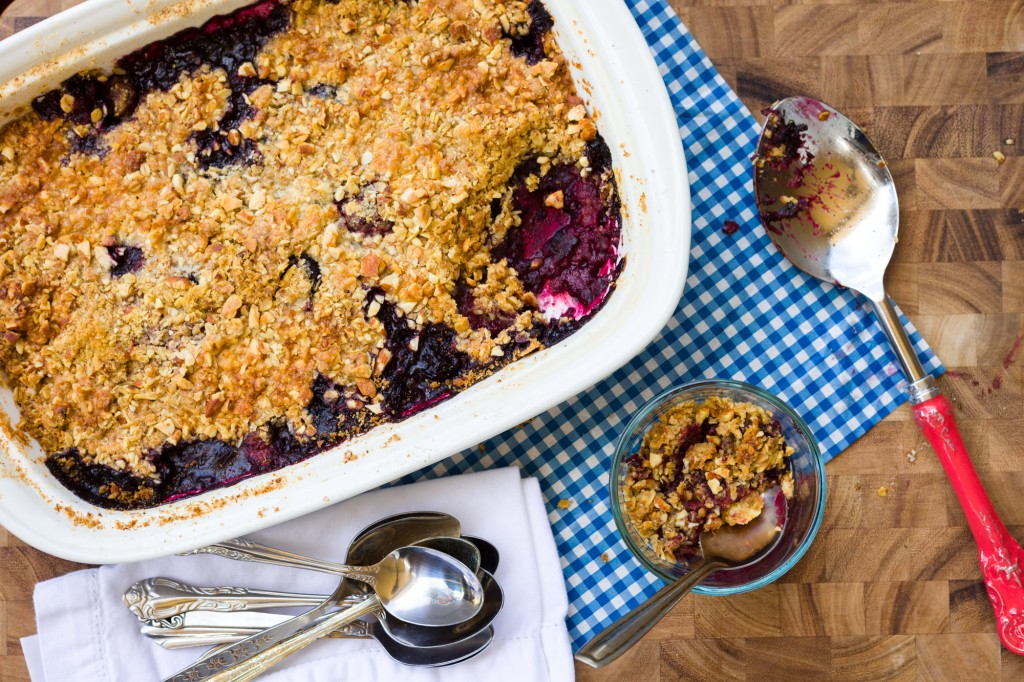 Gluten Free Mixed Berry Cobbler-196