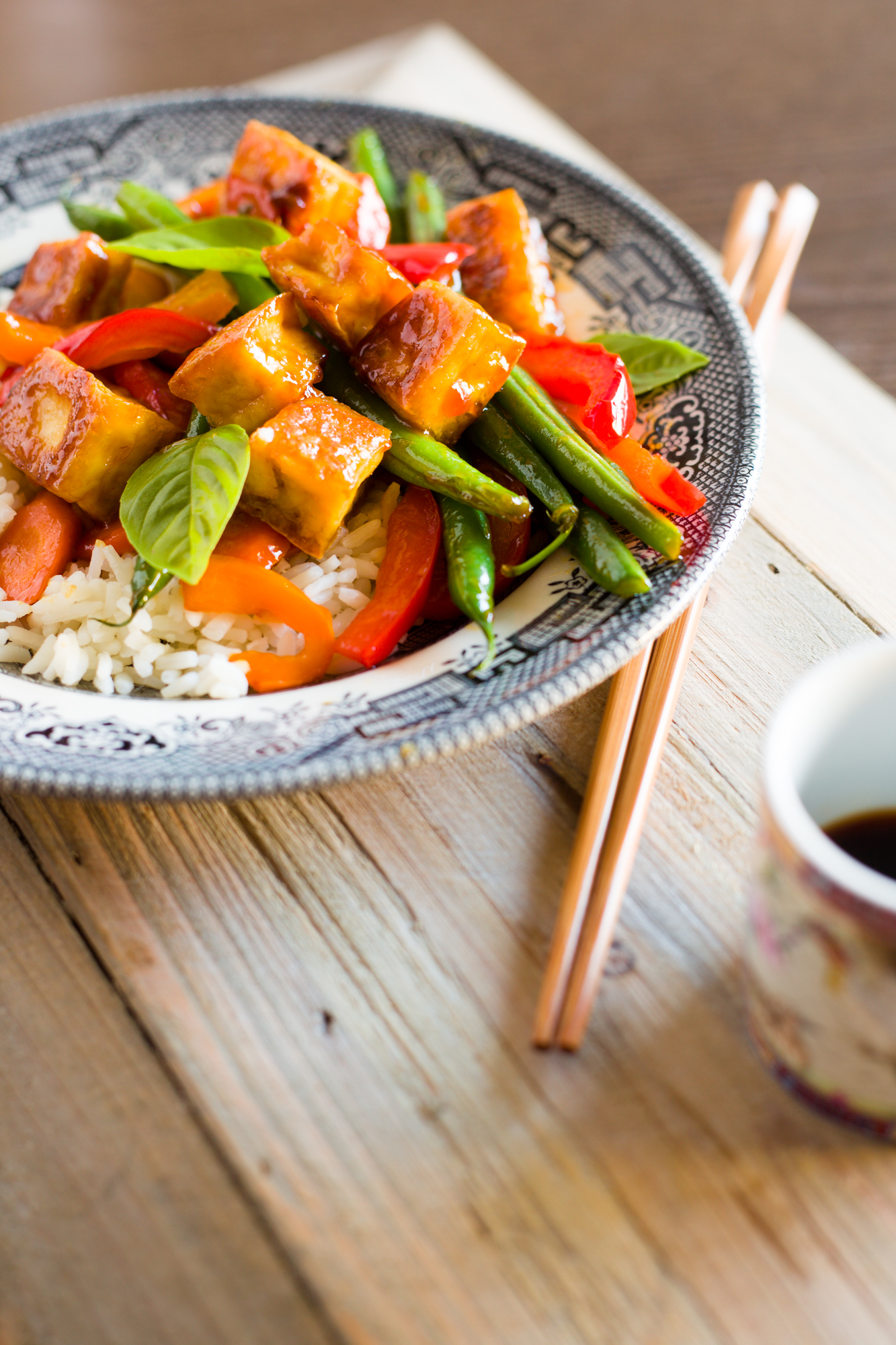 Dinnertime Luv and Spicy Sweet Tofu Stir Fry – Luv Cooks | Love ...