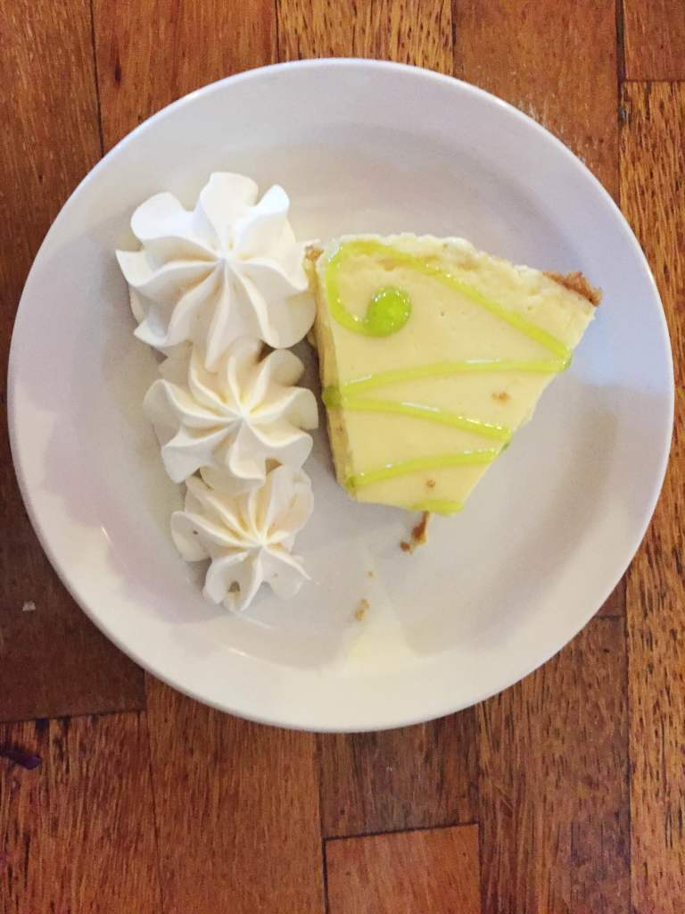 Key Lime Pie at the Key Largo Conch House