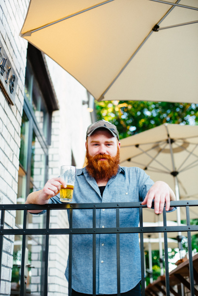 Dan King, head beer buyer for Butchertown Hall and several other restaurants