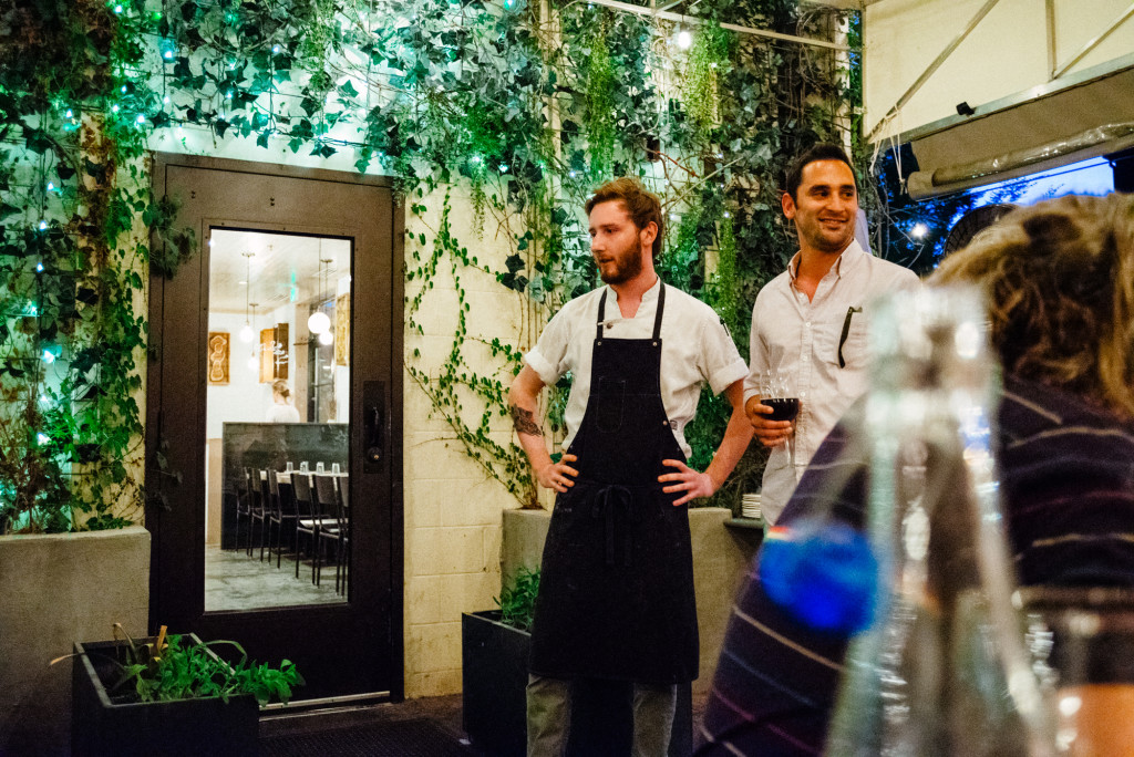 Chef and beer experts explain our lovely menu