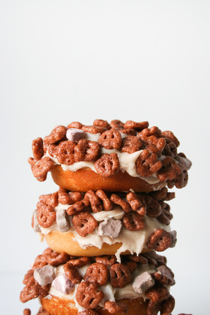 Salty Canary's Count Chocula donuts!!