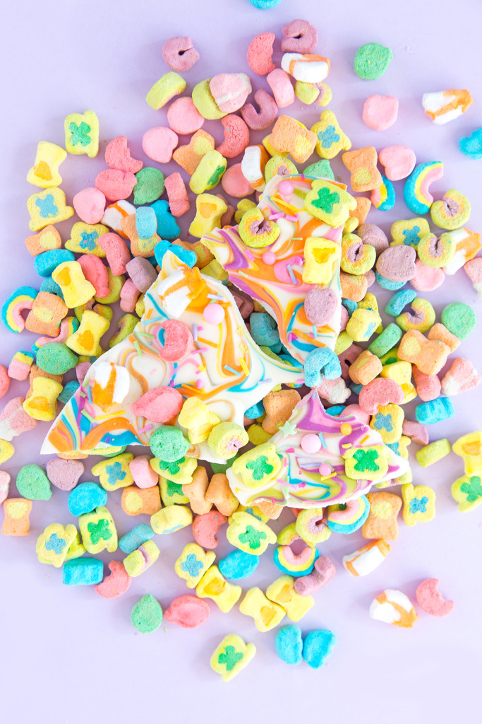 Aww.Sam's Lucky Charms bark!