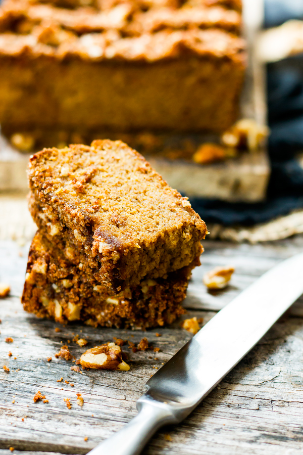 Coconut Flour Pumpkin Bread